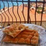 Focaccia alla Genovese Bread Ligurian Dish