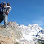 Aosta Valley Mount Blank Italy Alps
