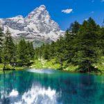 Aosta_Valley_Mount_Cervino_Matterhon_Blue_lake_Alps_Nature