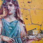 Pompeii Roman Frescoes Woman