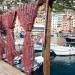 Camogli Italian Riviera Dock and Fish net