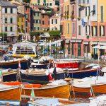 Liguria Portofino Dock City View
