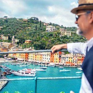 Portofino Dock View Italian Riviera