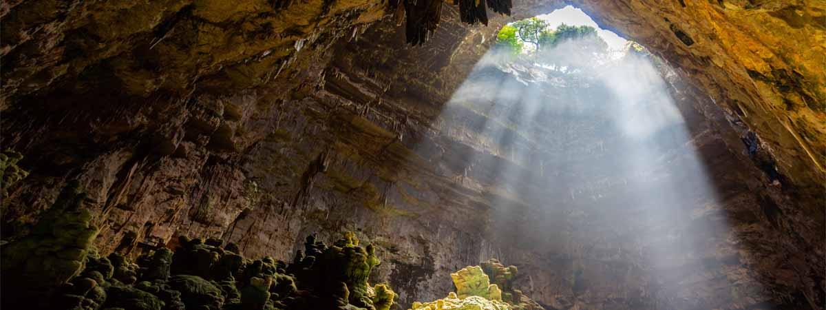 Castellana Caves View Apulia