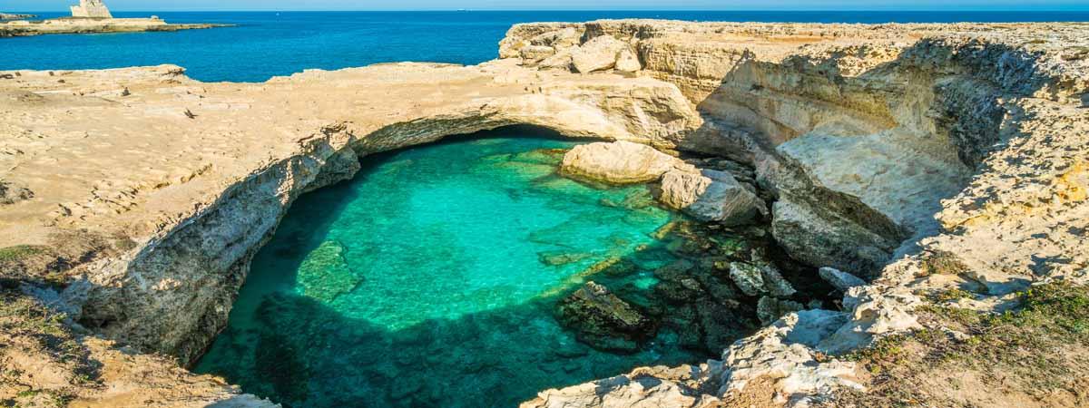 Apulia Salento Grotta della Poesia