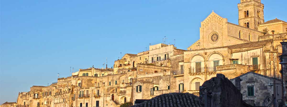 Basilicata Matera Sassi Town Vew