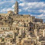 Matera Sassi Town Unesco Site View