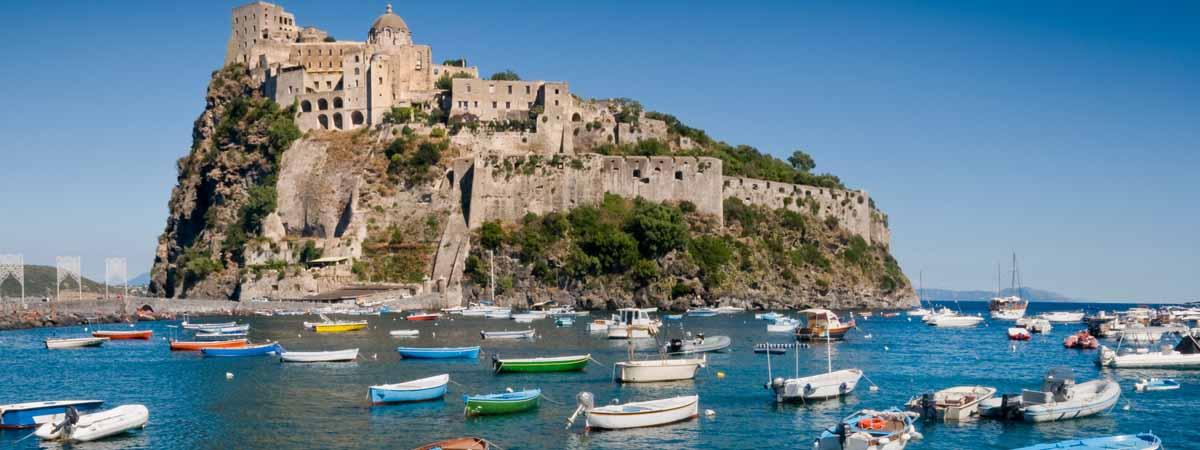 Ischia Aragonese Castle Amalfi Coast