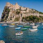 Ischia Aragonese Castle View