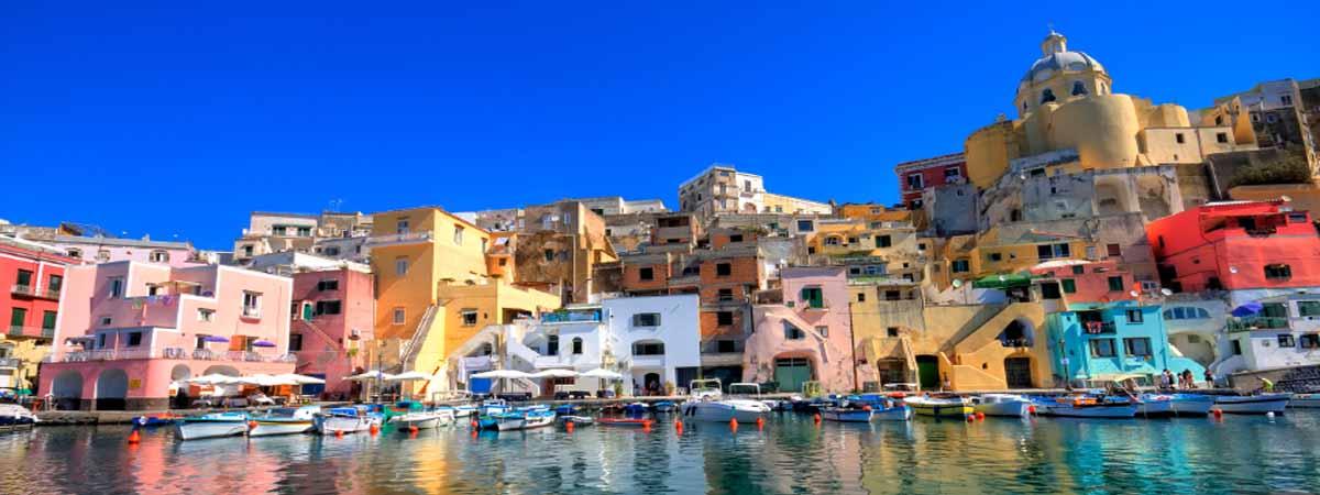 Procida Campania Dock Amalfi Coast