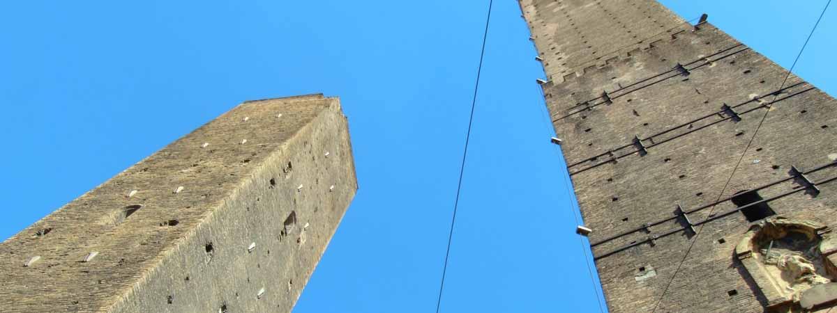 Emilia Romagna Bologna Asinelli Leaning Towers