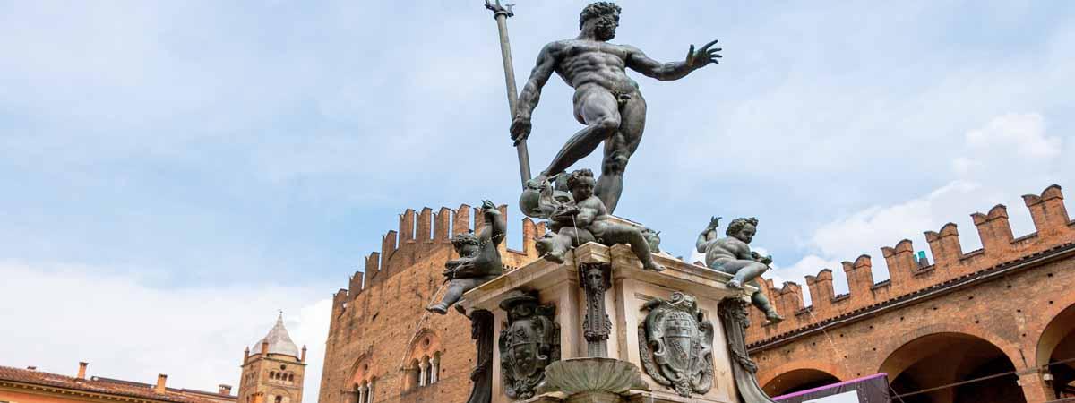 Bologna Neptune Fountain Emilia Romagna