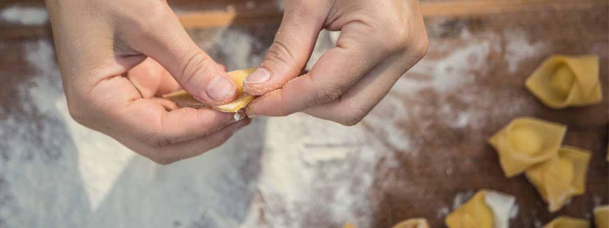 Bologna Tortellini Hand Making Emilia Romagna