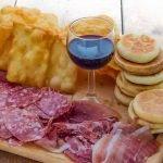 Tigelle and Cresentine Emilia Romagna Typical Dish Food