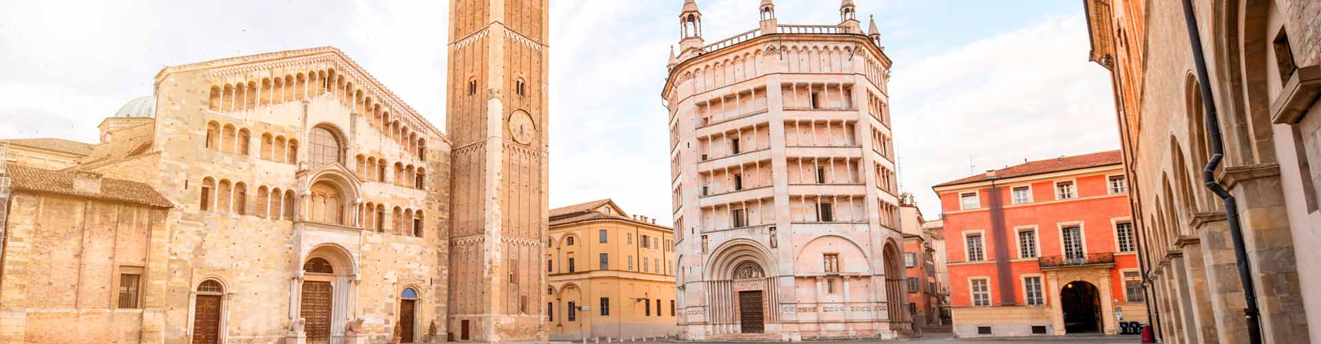 Parma Batptistery Cathedral Square