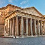 Rome Pantheon Frontal View