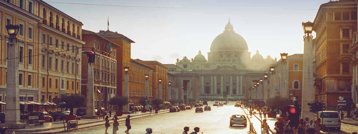 Rome Viale Riconciliazione St Peter Vatican