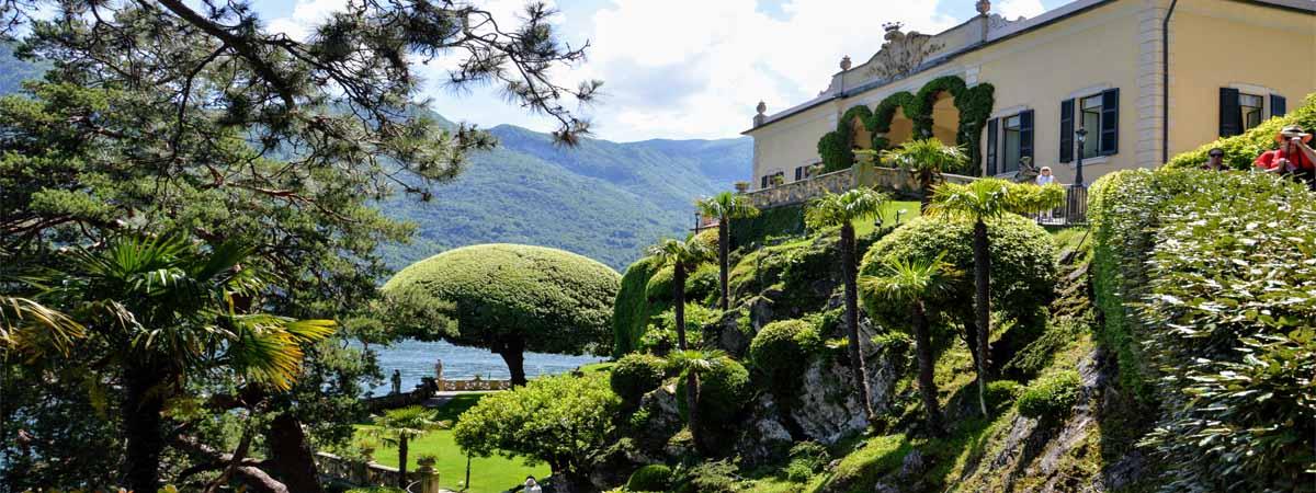 Lake Como Balbianello Villa Gardens