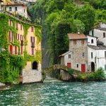Lake Como Nesso View Lombardy