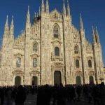 Milan Duomo Cathedral View