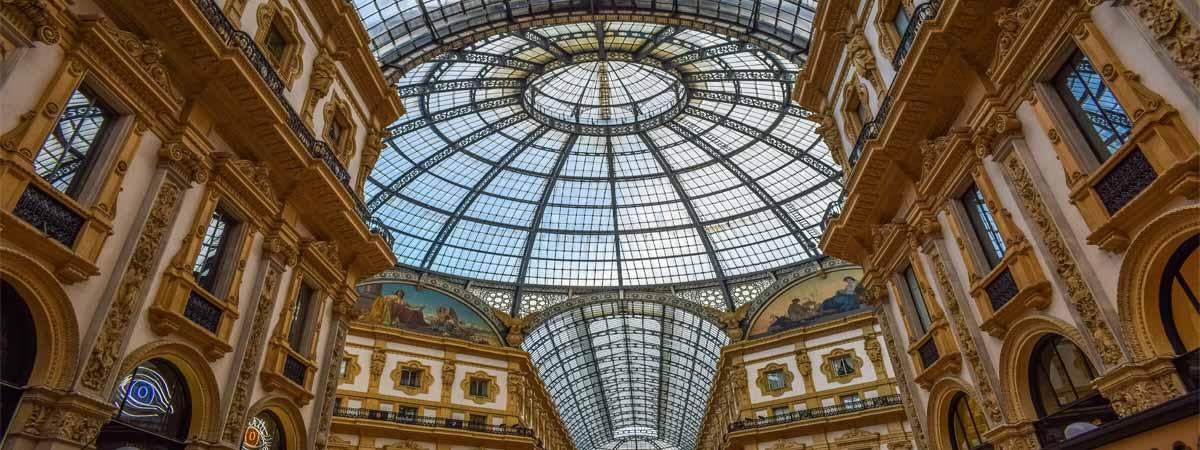 Milan Galleria Vittorio Emanuele II Architecture