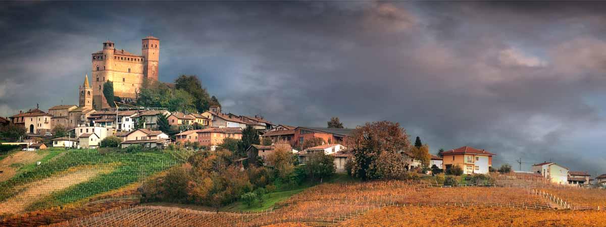 Piedmont Grinzane Cavour Castle Langhe