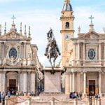 Piedmont_Turin_San_Carlo_Square_Santa_Cristina