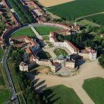 Turin Stupinigi Palace Areal View