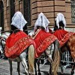 Cagliari Sardinia Festival Folklore Poeple