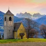 Veneto Region Dolomites Alps Montain Chain