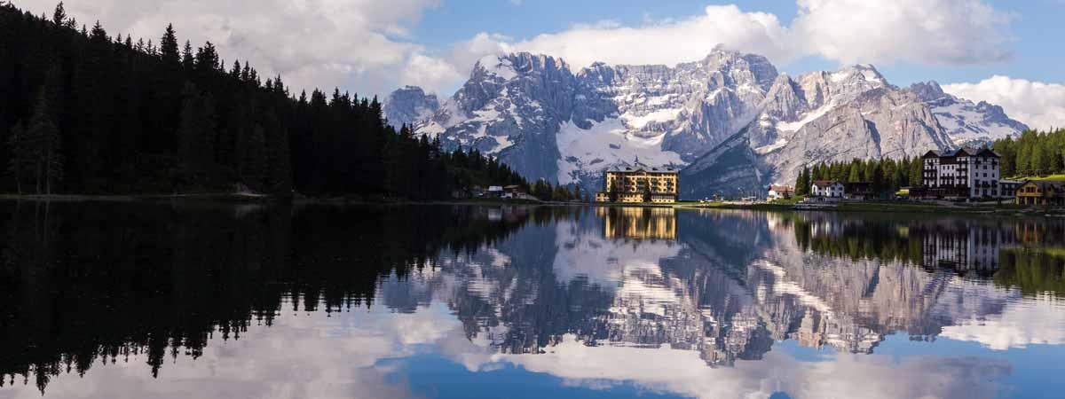 Misurina Lake Trentino Alto Adige Dolomites
