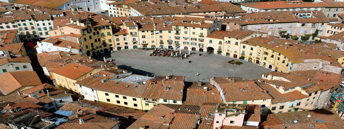 Lucca Anphiteather Square Tuscany