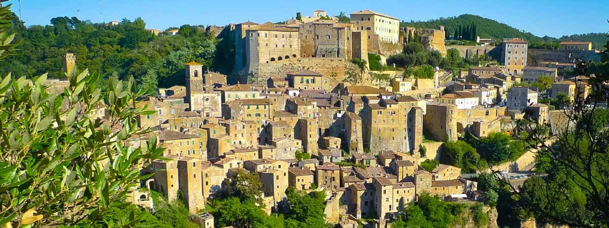 Tuscany Maremma Sorano Medieval Town