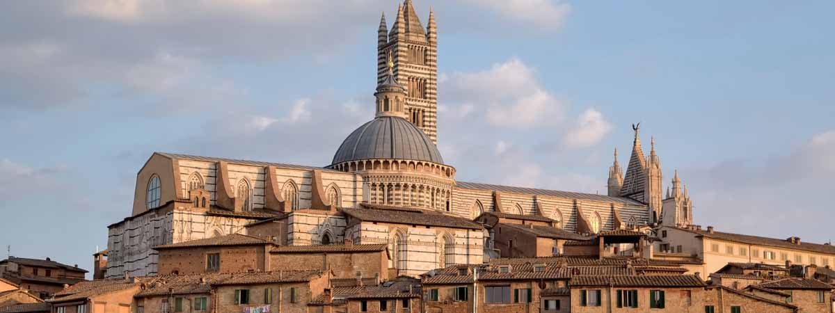Siena Duomo Cathedral Panoramic View