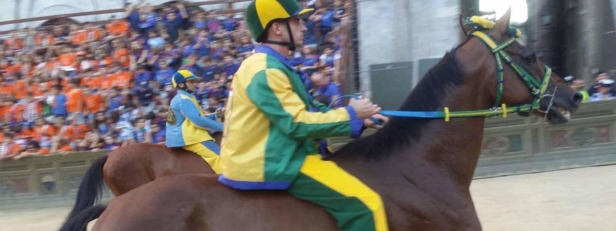 Siena Tuscany Palio Race Campo Square