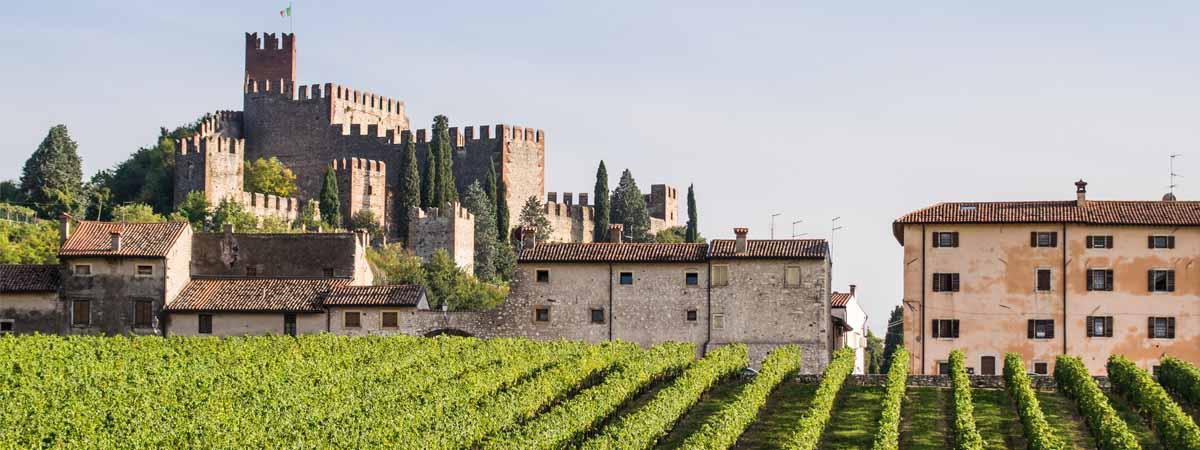 Veneto Soave Castle Town View