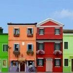 Venice Burano coloreful Houses