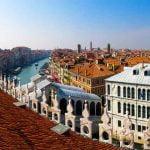 Venice Canal Grande Rialto Bridge