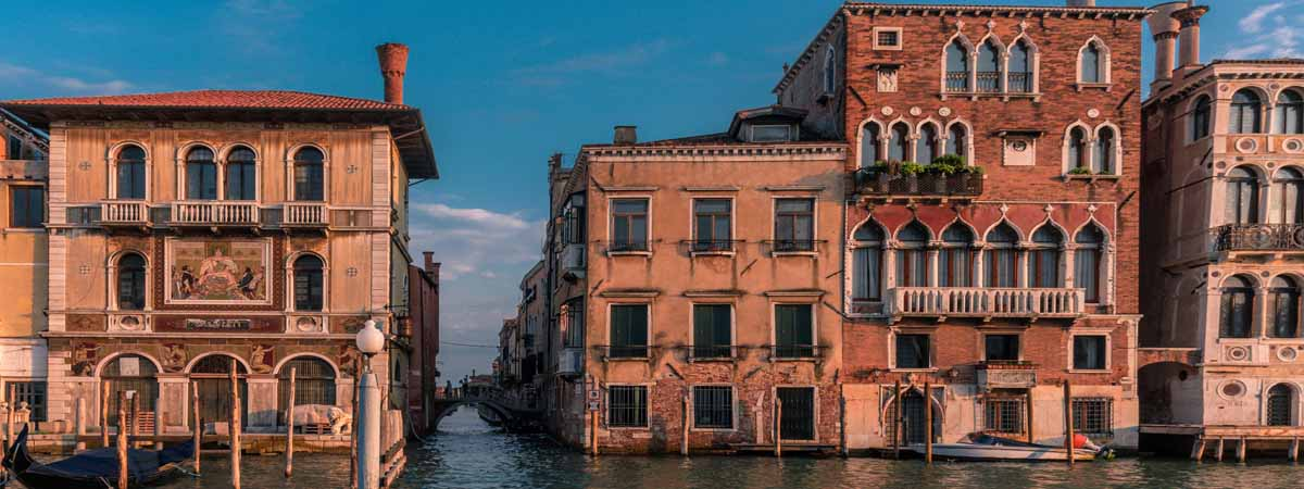 Venice Houses on Canal Grande