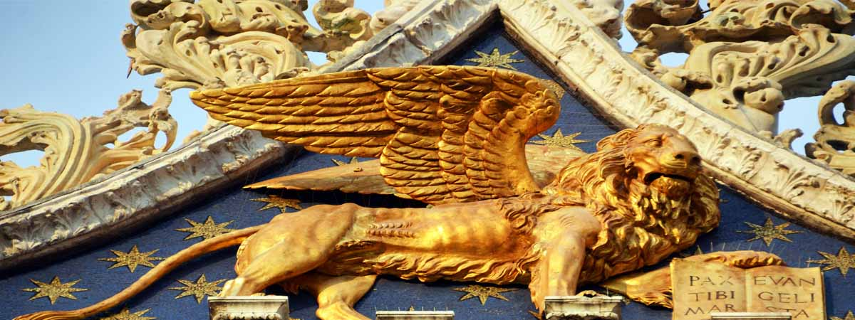 Venice Winged Lion Symbols