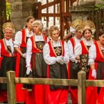 Aosta Valley Walser Traditional Costumes Folklore People