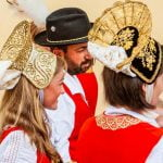 Aosta Valley Walser Traditional Costumes Folklore