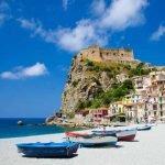 Calabria_Scilla_Fishing_Boats_Sandy_Beach