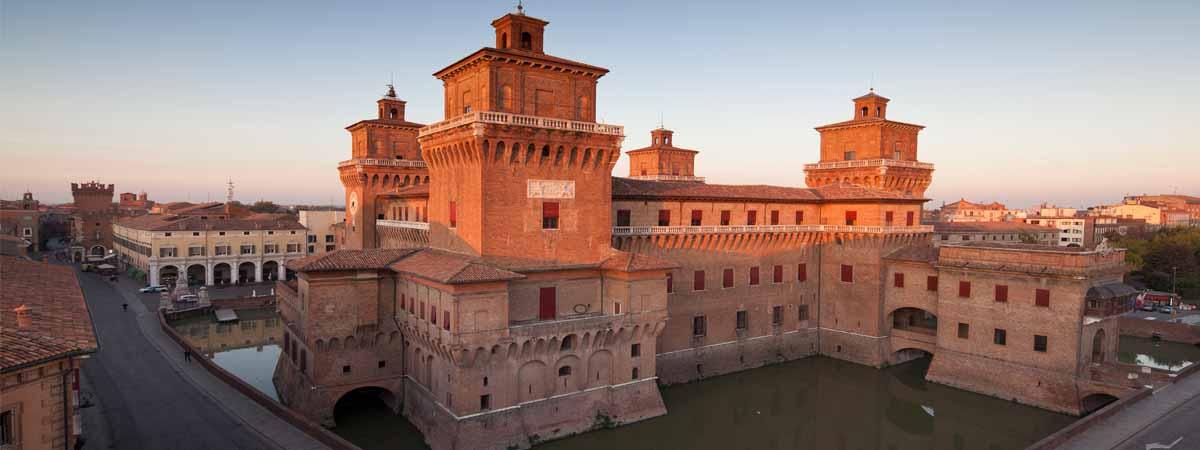 Ferrara Emilia Romagna Estense Castle
