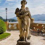 Lake Como Tremezzina Villa Balbianello Statue
