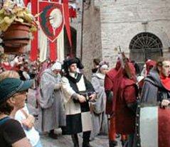 umbria medieval historical parade