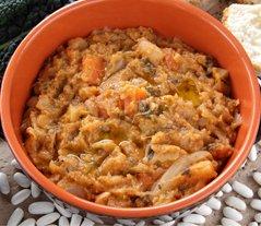 Ribollita typican Tuscan Dish