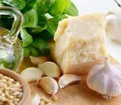 Pesto Souce ingredients