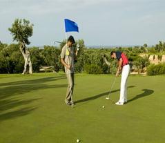 Apulia Coccaro Golf Club among Centenary Olive Trees