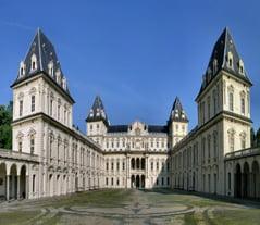 Turin Valentino Castle view